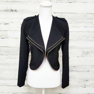 Agaci Store Black Zip Jacket